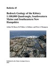 Bedrock geology of the Kittery 1:100,000 quadrangle, southwestern Maine and southeastern New Hampshire by Arthur M. Hussey II, Wallace A. Bothner, and Peter J. Thompson