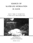 Sources of water-use information in Maine