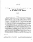 The geology and geophysics of the Passamaquoddy Bay area, Maine and New Brunswick, and their bearing on local subsidence