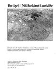 The April 1996 Rockland landslide