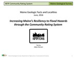 Increasing Maine's Resiliency to Flood Hazards through the Community Rating System by Abbie Sherwin