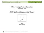 USGS National Geochemical Survey by Robert A. Johnston