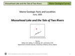 Moosehead Lake and the Tale of Two Rivers