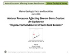 """Natural Processes Affecting Stream Bank Erosion:  An Update to """"Engineered Solution to Stream Bank Erosion"""""""