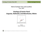 Geology of Jamies Pond by Robert G. Marvinney