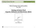 Geology of Jamies Pond