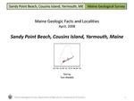 Sandy Point Beach, Cousins Island, Yarmouth, Maine