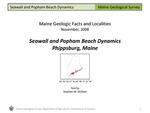 Seawall and Popham Beach Dynamics by Stephen M. Dickson