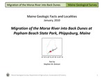Migration of the Morse River into Back Dunes at Popham Beach State Park