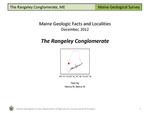 The Rangeley Conglomerate by Henry N. Berry IV