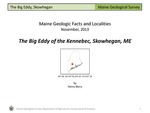 The Big Eddy of the Kennebec, Skowhegan, ME by Henry N. Berry IV
