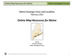 Online Map Resources for Maine by Christian Halsted