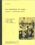 Peat resources of Maine; Volume 1, Aroostook County