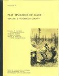 Peat resources of Maine; Volume 2, Penobscot County