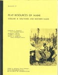 Peat resources of Maine; Volume 4, Southern and western Maine