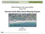 Overview of the Maine Beach Mapping Program by Hannah M. Corney