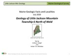 Geology of Little Jackson Mountain, Township 6 North of Weld, Maine by Lindsay J. Spigel and Amber TH Whittaker