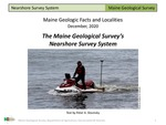 The Maine Geological Survey's Nearshore Survey System by Peter A. Slovinsky