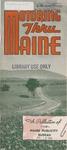 Motoring Thru Maine, 1946 (?) by Maine Publicity Bureau