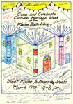 Cultural Heritage Week Poster, 1988 by Maine State Library