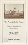The Poland Spring House, A Special Presentation by Marion Bunney