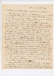 Letter from the Honorable John G. Deane, Esq. to the Governor, Lieutenant Governor, and Officers of the Penobscot Tribe by John G. Deane