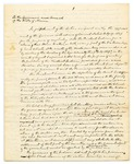 Letter from John G. Deane, Esq. to the Governor and Executive Council regarding treating with the Penobscot Indians for the purchase of the Mattawamkeag Townships, January 20, 1830