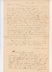 Letter from Reuben and Allen Haines to Samuel Hussey conveying Penobscot tribe's terms for sale of land and timber, June 19, 1830 by Reuben Haines and Allen Haines