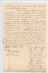 Petition of Penobscot Nation to the Governor and Executive Council requesting appointment of Albert Lovejoy as Indian Agent, October 1, 1831