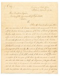 Arrangement with Penobscot Nation Regarding Separation from Massachusetts, September 27, 1820 by Alden Bradford and Ashur Ware