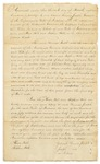 Agreement Between Abner and Stephen Hill and Passamaquoddy Tribe, March 30, 1820
