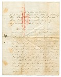 Memorandum of Agreement Among Passamaquoddy Tribe, September 27, 1875