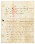 Memorandum of Agreement Among Passamaquoddy Tribe, September 27, 1875