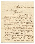 Letter Regarding Tribal Fishing Rights On Penobscot River Islands, May 10, 1830