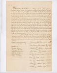 Penobscot Treaty, August 17, 1820 by Penobscot Nation and Commonwealth of Massachusetts