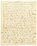 1822-01-08   Petition of Joseph Butterfield regarding fish weirs in the Penobscot River depleting the salmon catch of tribes