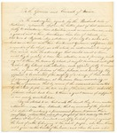 1823 (circa)  Report of Agents for the Penobscot Nation Regarding the Decline of Tribal Fishing and Hunting