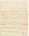 1823-01-11 Letter from Samuel Hussey, Agent for Indian Affairs, to Governor and Executive Council by Samuel F. Hussey