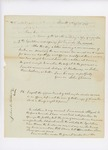 1830-04-03  Letter from John G. Deane, Esq. to Secretary of State Edward Russell regarding commission and funds