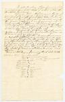 1832-01-06  Memorial of certain members of the Penobscot Tribe against the power assumed by John Neptune