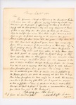1832-07-10  Report of Agent Mark Trafton to Secretary of State asking about proceeds from timber sales and for provisions for tribe