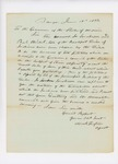 1833-06-18  Two petitions from the Penobscot Tribe against the illegal sale of their land