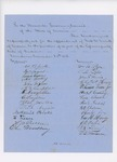 1856-12-08  Petitions from voters in Pembroke, Perry, Eastport, and Machias requesting appointment of George Welch and Seth Smith as agents for the Passamaquoddy Tribe