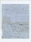 1858  Petitions of the Passamaquoddy Tribe requesting appointment of David Gordon as Agent