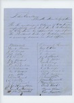 1859  Correspondence in support of Samuel W. Hoskins of Old Town as Agent for the Penobscot Tribe