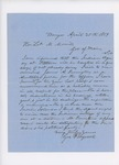 1859-04  Letters in support of James Purinton as Agent for the Penobscot Tribe