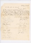 1859-04-30  Petitions in support of the appointment of George F. Dillingham as agent for the Penobscot Tribe