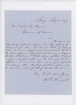 1859-02  Letters in support of the appointment of Frederic H. Dillingham as agent for the Penobscot Tribe