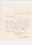 1859-05  Letters in support of appointment of Frederic H. Dillingham as agent for the Penobscot Tribe