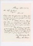1859-04  Letters and petitions in support of appointment of Albert Richardson as agent for the Penobscot Tribe